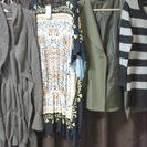 【終了】大きいサイズL~3L新品含む中古派手目婦人冬服50枚
