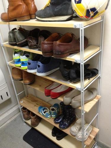 ... シューズボックス 下駄箱 完成品 靴収納 玄関収納 幅90cm ...