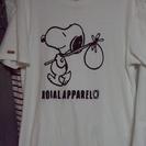 ROIAL Tシャツ 白 スヌーピー