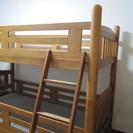 【お取引き中】2段ベッド (再) − 栃木県