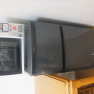 洗濯機、冷蔵庫、電子レンジ