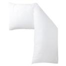 無印良品 長枕、カバー付き (枕、カバー、2つずつあります)の画像