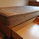 収納つきベッド譲ります。