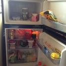 2ドアの冷蔵庫