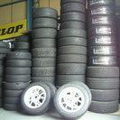 中古タイヤ  アジアンタイヤ 激安輸入タイヤ タイヤ交換いたします。