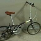 DAHONの折りたたみ自転車、譲ります