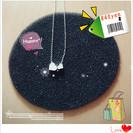 【※送料込!♡^シルバー色のハート型ネックレス^♡新品未使用品♡まとめ買い値引きあり!♡】 - 和光市