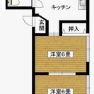 熊谷市江南中央 生活超便利 2DK激安3.5万円 201号室 2階角部屋