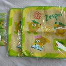 ミニタオル2枚とフルーツピック8本 送料込300円