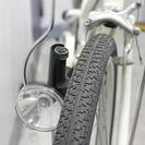 無印良品の20インチコンパクト自転車 オフホワイト - 武蔵野市