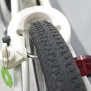 無印良品の20インチコンパクト自転車 オフホワイト - 自転車