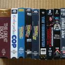 英語版映画のVHSテープ24本+日本語吹き替え版VHSテープ2本 無料