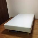 無印良品セミダブルベッド&ニトリ二段ベッドの画像