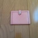 バーバリー ブルーレーベル カードケース ピンク