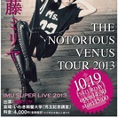 加藤ミリヤ THE NOTORIOUS VENUS TOUR 2013