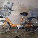 子供を乗せるタイプの自転車です(o^^o)
