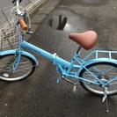 (受付終了いたしました)美品☆折り畳み自転車を取りに来て下…