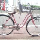 中古 ママチャリ 子供乗せ自転車