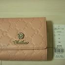 【クレイサス/ CLATHAS】ピンクのかわいいお財布★未使用タグつき