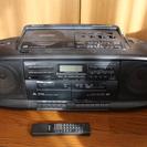 カセットCDプレーヤー(SONY CFD-300)