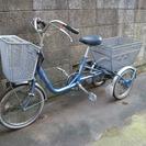ブリジストンの三輪車です。中高年の方に最適。 格安です。