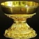 仏飯器 銅造鍍金彫金仕上げ