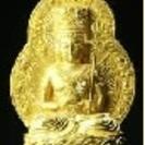 仏像 般若仏母 銅造鍍金彫金仕上げ...
