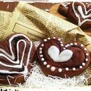 バレンタインに、ハートのシナモンチョコロール♪