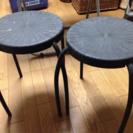 アウトドア 椅子2脚 0円