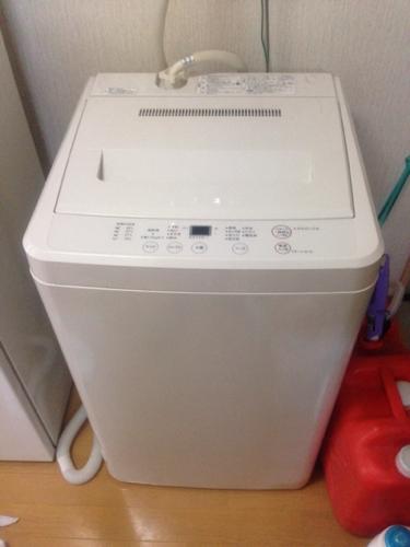 無印良品 4.5kg 全自動洗濯機の画像