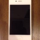【交渉成立】値下げ《32GB》iPhone4(白) / 中古 /...