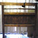 木製のついたて (W120×D40×H125)