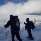 【富士山でスノーシュートレッキング体験】