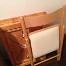無印良品の机、椅子、収納の画像