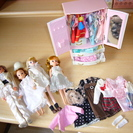りかちゃん人形とお洋服