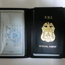 FBIレプリカ IDカード・バッジ・ケースセット