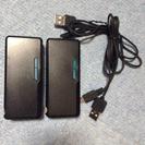 モバイル充電器二つ