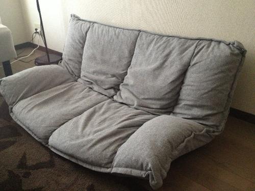 ニトリ ソファ座椅子の画像