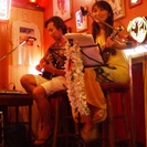 横浜でハワイアン ウクレレとギターのPuaMalinaライブ