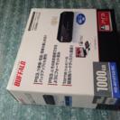 ハードディスク1000GB BUFFALO