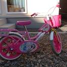 ★女の子用自転車★ 【16インチ 中古 屋内管理】