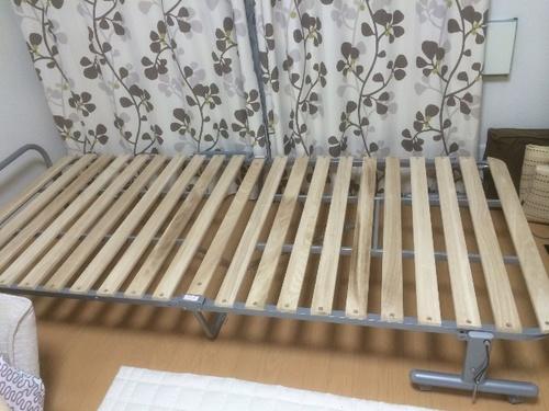 折りたたみ式スノコベッドあげます。 (ジェシカ) 八潮のベッド《その他