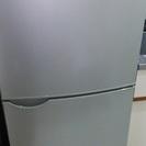 【無料】140L冷蔵庫、引き取りに来られる方、譲ります