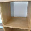 無印良品/木製シェルフ2×2(タモ材)【廃盤品】 - 家具