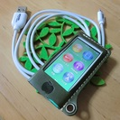 【交渉中】ipod nano 第7世代 グリーン*おまけ有り