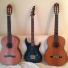 ギター3本セット