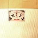 【IKEA製・激安】白い体重計