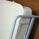 無印良品 シングルベット(パイプ)+マットレス 無料(送料負担お願いします) − 島根県