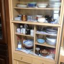 食器棚を無料で差し上げます。