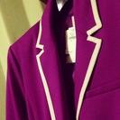 【❤値下げ!!^GAPの紫色&ホワイト2ボッタンジャケット^❤新品送料無料!❤】 - 服/ファッション